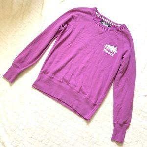 Roots Canada purple beaver sweatshirt/s